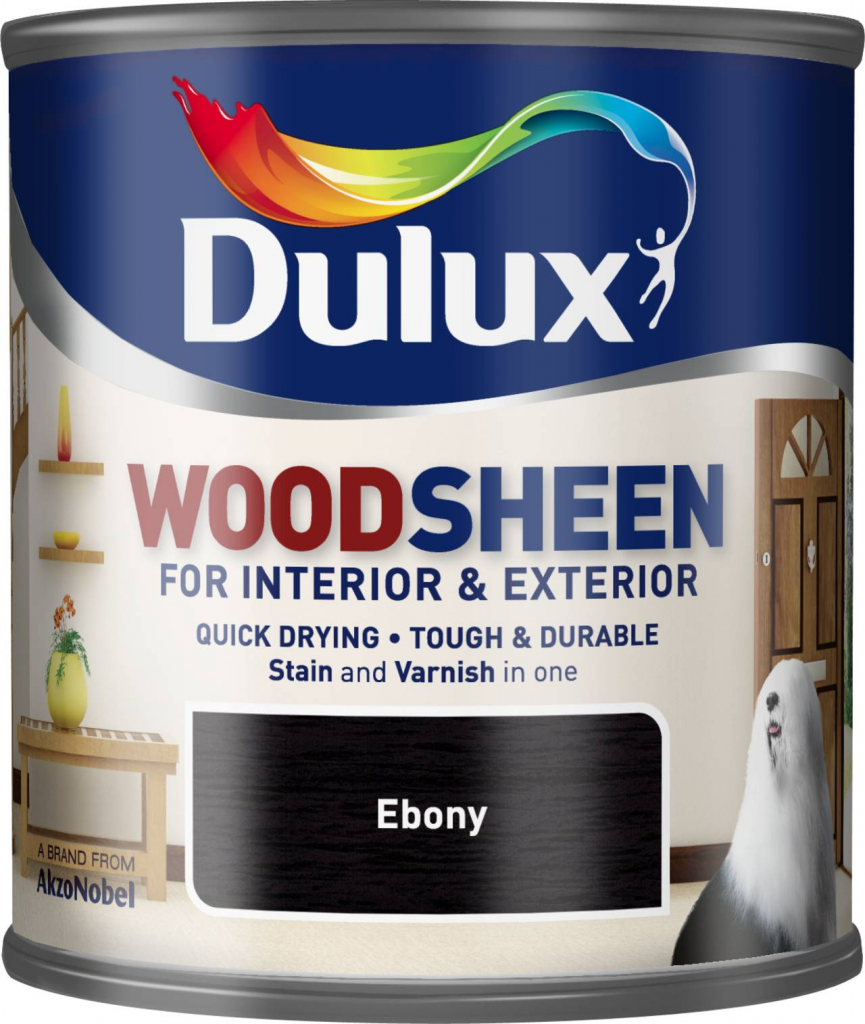 Dulux Woodsheen 250ml - Ebony