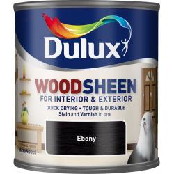 Dulux Woodsheen 250ml Ebony