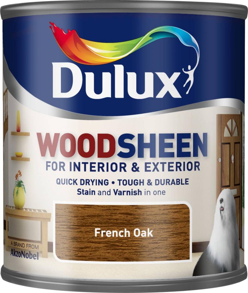 Dulux Woodsheen 250ml - French Oak