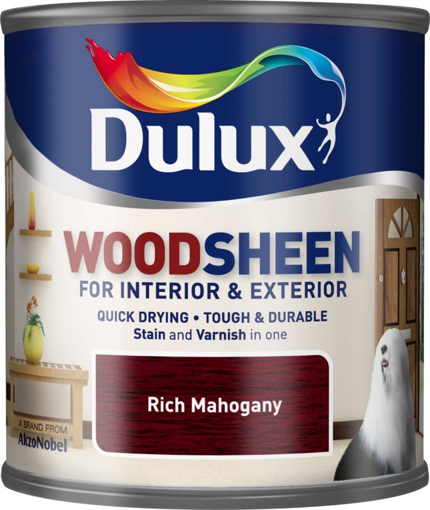 Dulux Woodsheen 250ml - Rich Mahogany