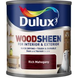 Dulux Woodsheen 250ml Rich Mahogany