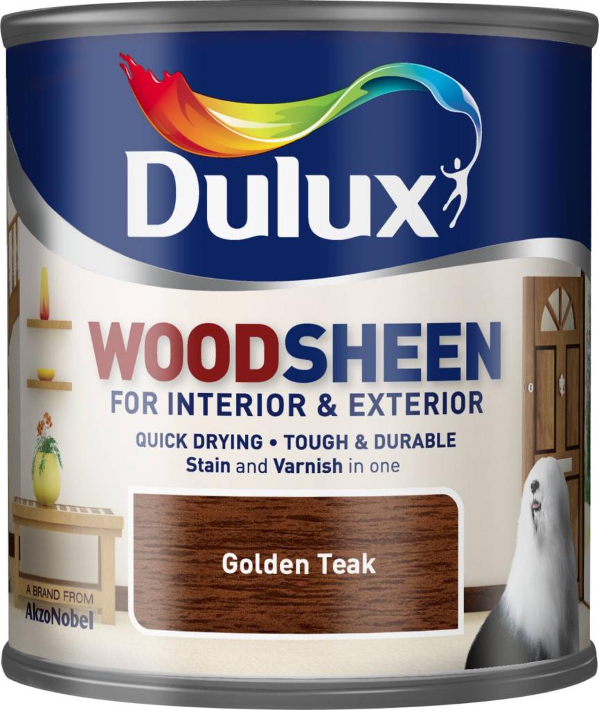 Dulux Woodsheen 250ml - Golden Teak