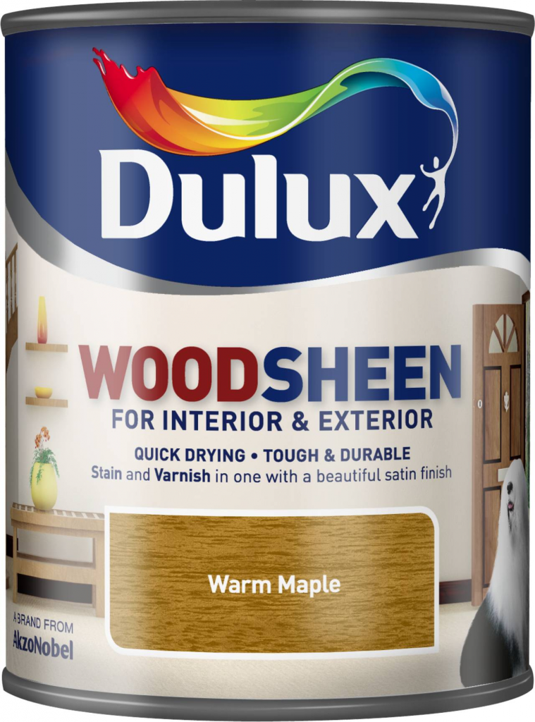 Dulux Woodsheen 750ml - Warm Maple