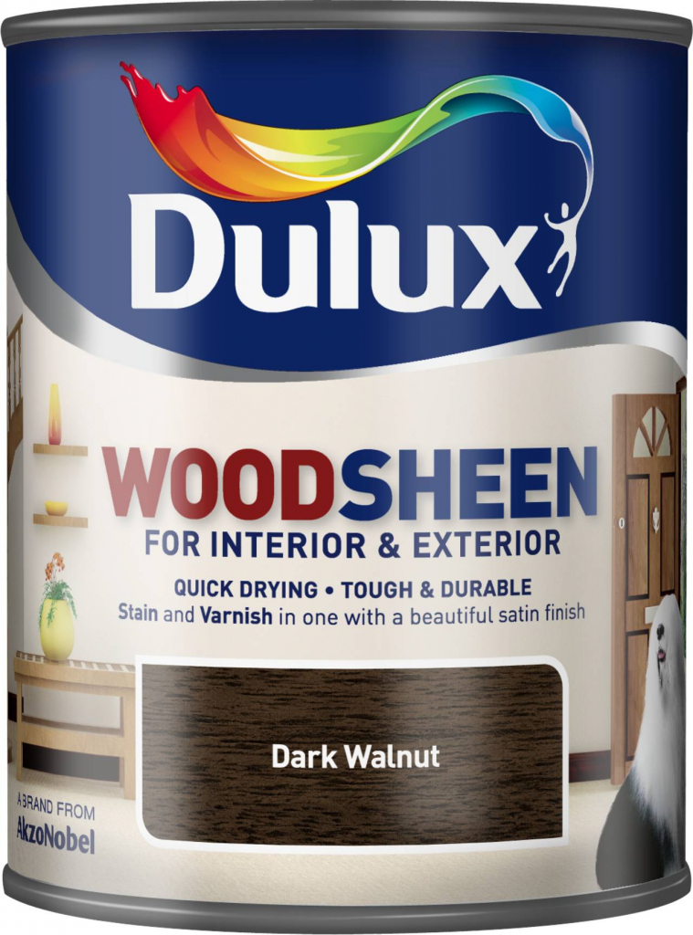 Dulux Woodsheen 750ml - Dark Walnut
