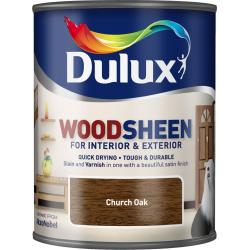 Dulux Woodsheen 750ml Church Oak