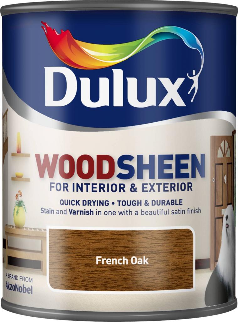 Dulux Woodsheen 750ml - French Oak