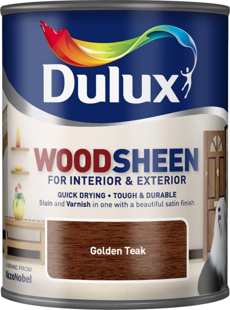 Dulux Woodsheen 750ml - Golden Teak