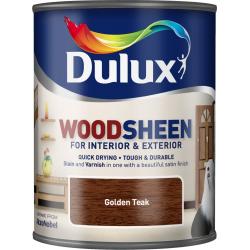 Dulux Woodsheen 750ml Golden Teak
