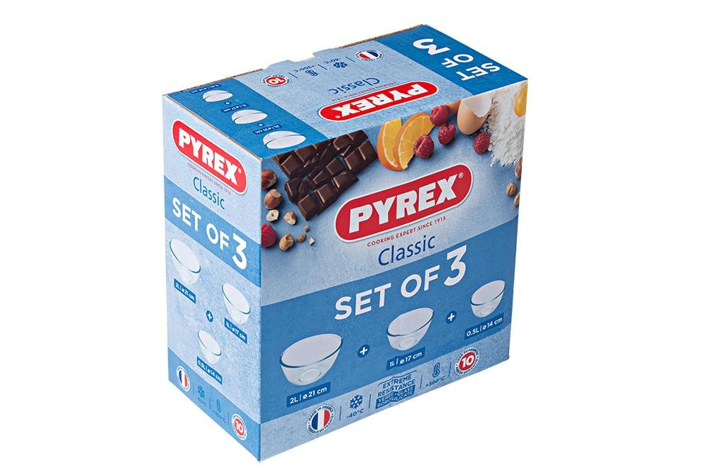 Pyrex Classic Bowl Set - 3 Piece