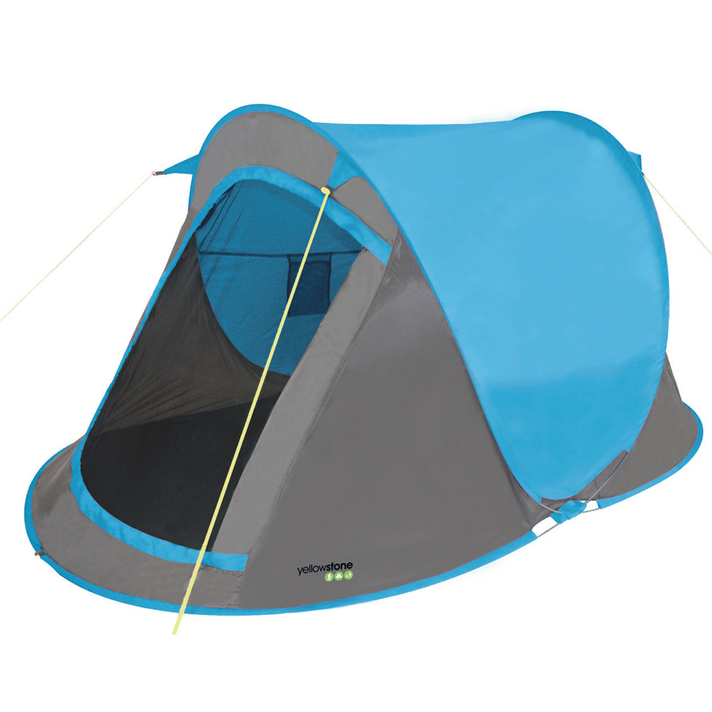 Yellowstone Fast Pitch Tent Blue - 2 Man