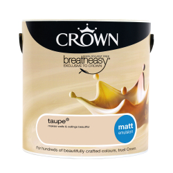Crown Matt Taupe 2.5L