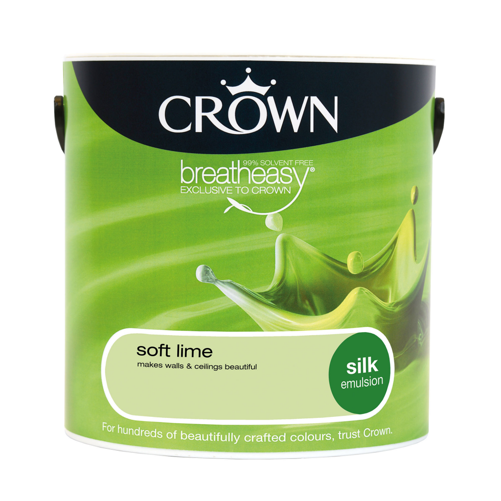 Crown Silk Emulsion 2.5L - Soft Lime