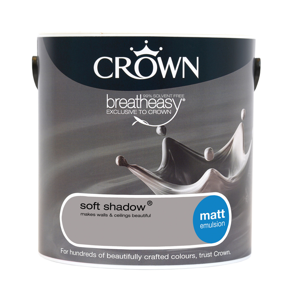 Crown Matt Emulsion 2.5L - Soft Shadow
