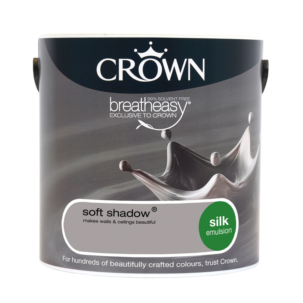 Crown Silk Emulsion 2.5L - Soft Shadow