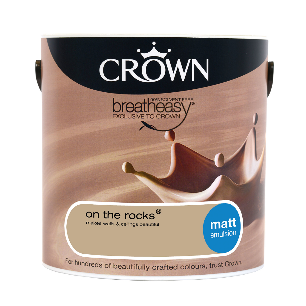 Crown Matt Emulsion 2.5L - On The Rocks