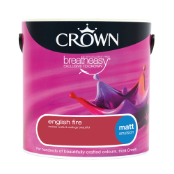 Crown Matt English Fire 2.5L