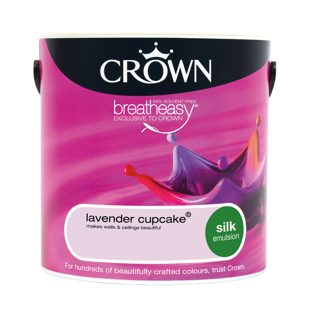 Crown Silk Emulsion 2.5L - Lavender Cupcake