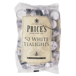 Price's Candles White Tealights