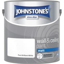 Johnstone's Wall & Ceiling Matt 2.5L