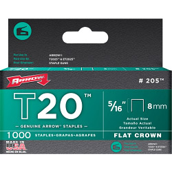 Arrow T20 Staples 8mm