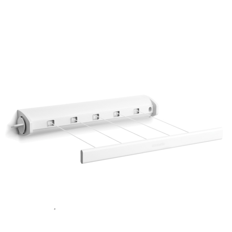 Brabantia Pull Out Drying Lines - White