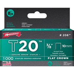 Arrow T20 Staples 10mm (1000)