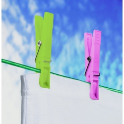 SupaHome Plastic Clothes Pegs