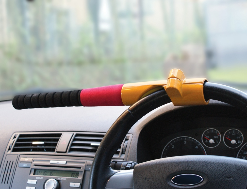 Streetwize Steering Wheel Lock - Baseball Bat