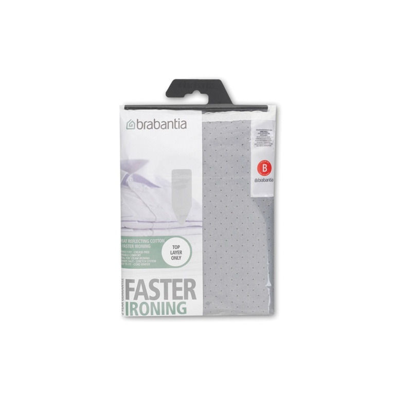 Brabantia Ironing Board Cover Metalised (Assorted) - 124 x 38cm