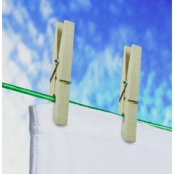 SupaHome Deluxe Wooden Clothes Peg