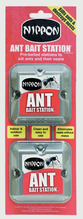 Nippon Ant Bait Station - Twin Pack