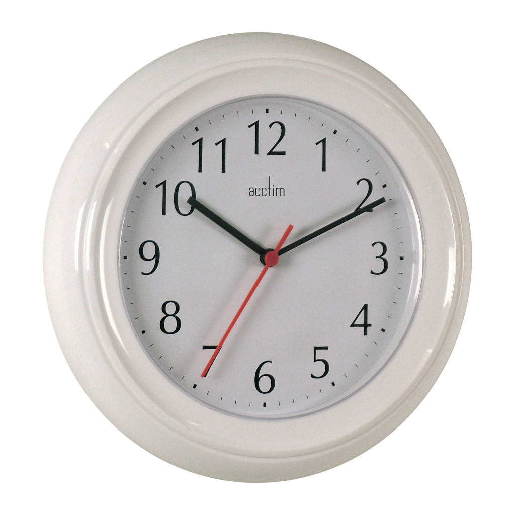 Acctim Wycombe Wall Clock - White