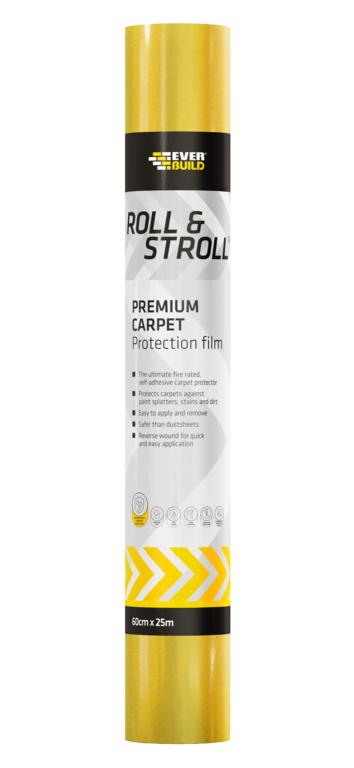 Everbuild Roll & Stroll Premium Carpet Protector - 60cm x 25m