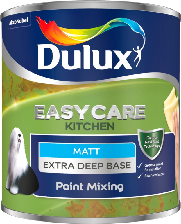 Dulux Colour Mixing Kitchen Matt Base 1L - Extra Deep