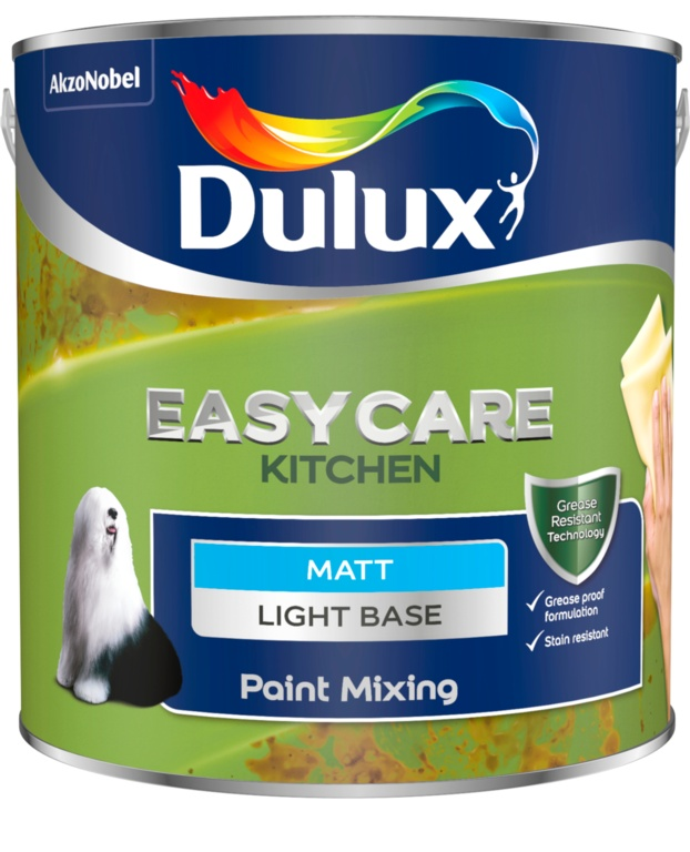 Dulux Colour Mixing Kitchen Matt Base 2.5L - Light