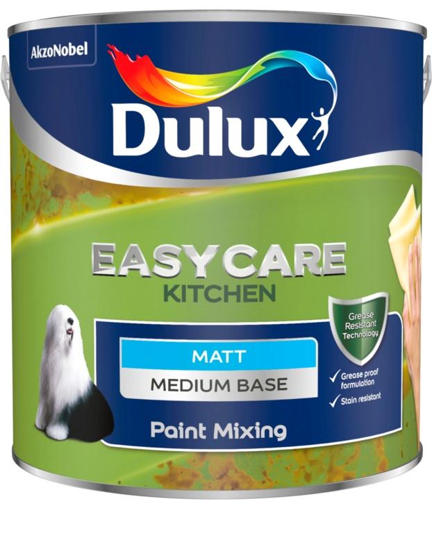 Dulux Colour Mixing Kitchen Matt Base 2.5L - Medium