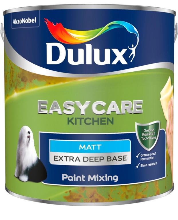 Dulux Colour Mixing Kitchen Matt Base 2.5L - Extra Deep