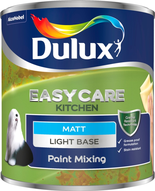 Dulux Colour Mixing Kitchen Matt Base 1L - Light