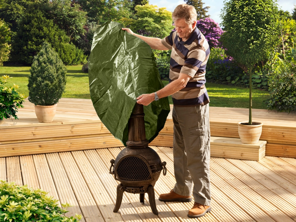 SupaGarden Chimenea Cover - 122cm x 61cm