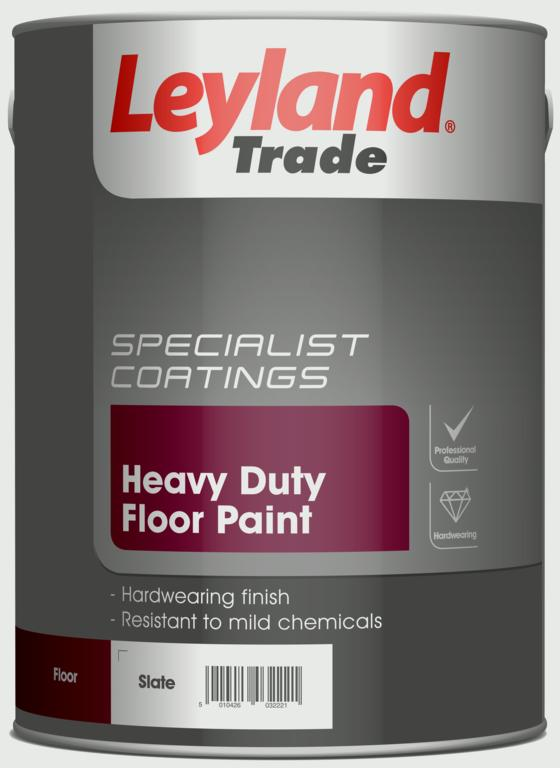 Leyland Trade Heavy Duty Floor Paint 5L - Slate