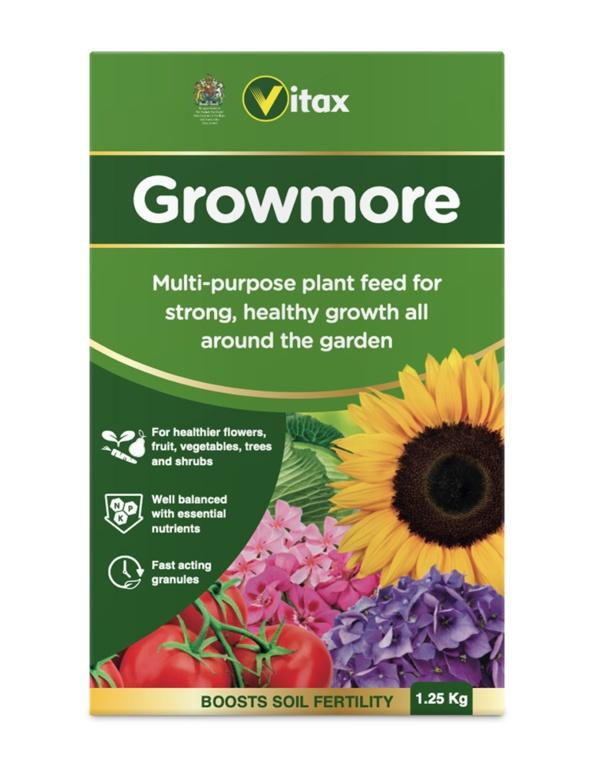 Vitax Growmore - 1.25kg