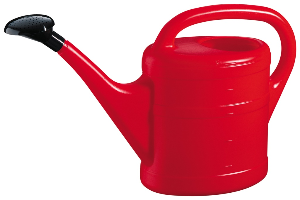 Green Wash Essential Watering Can 10L - Red