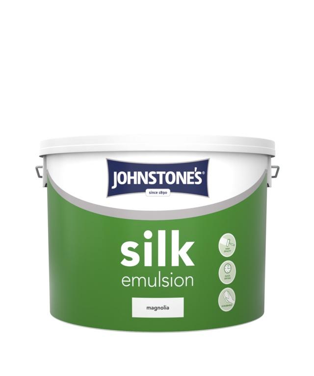 Johnstone S Silk Magnolia Paint