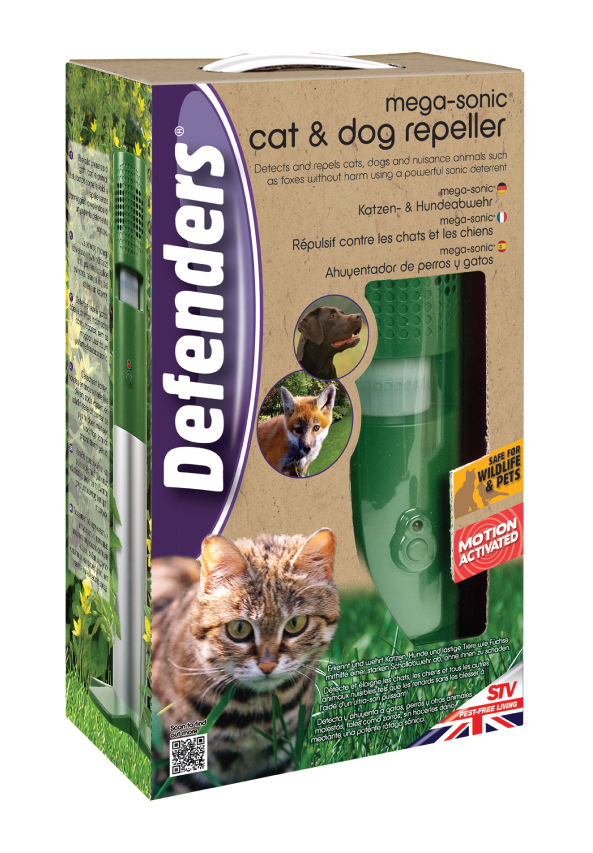 Defenders Mega Sonic Cat & Dog Repeller