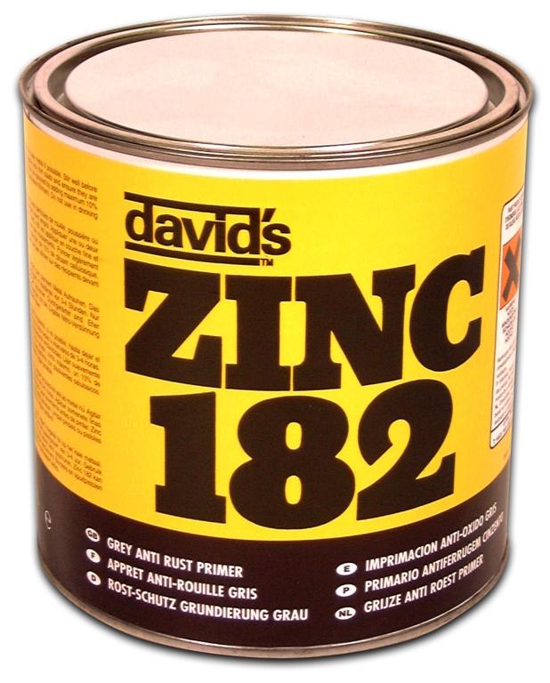 Isopon Zinc 182 Rust Inhibiting Primer - 2.5L Tin
