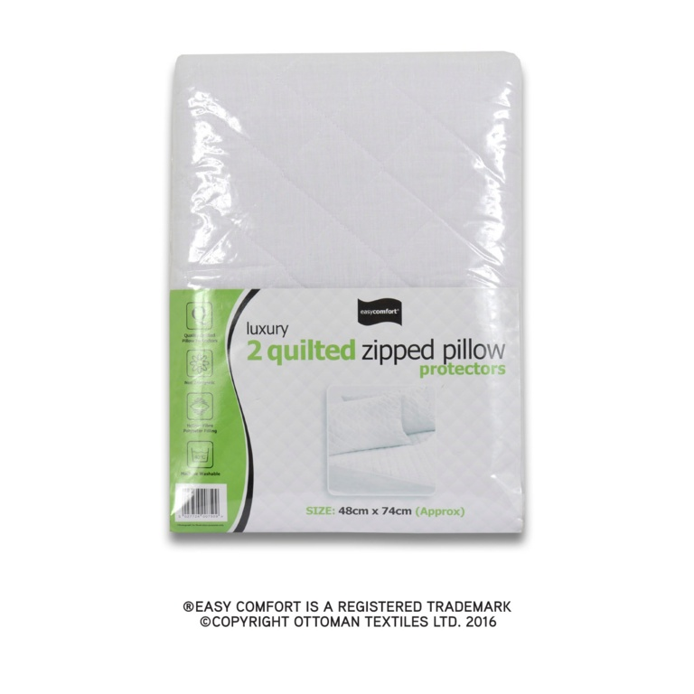 Easy Comfort Quilted Pillow Protector