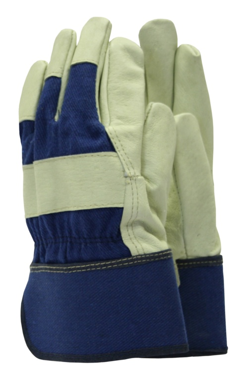 Town & Country Classics De-luxe Washable Leather Gloves - Men's Size - L