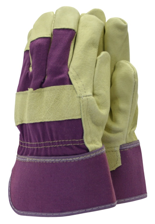 Town & Country Classics De-luxe Washable Leather Gloves - Ladies Size - M
