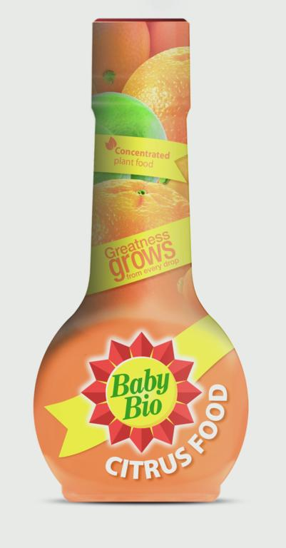 Baby Bio Citrus Food - 175ml