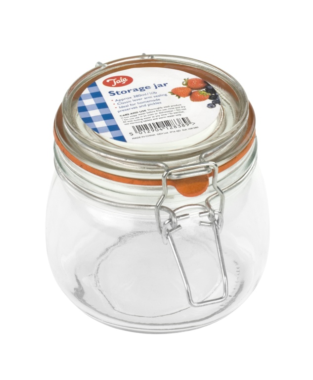 Tala Classic Airtight Lever Arm Storage Jar - 380ml/3 4lb